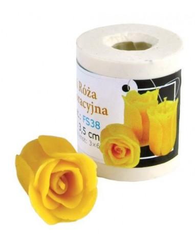 Forma silikonowa Mini róża dekoracyjna – wys. 3,5cm