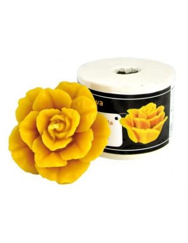 Forma silikonowa Pąsowa róża – wys. 5,5cm