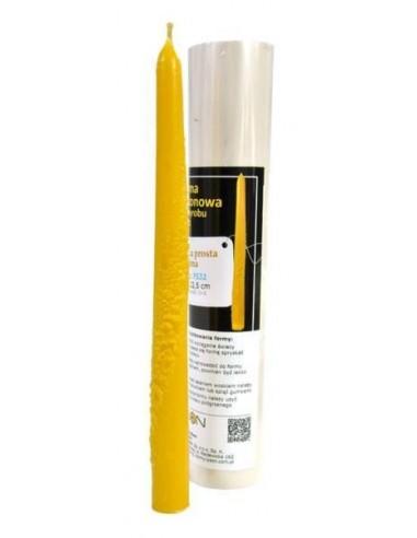 Forma silikonowa Świeca prosta ozdobna – wys. 22,5cm