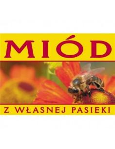 Banderola - miód prosto z ula - 100szt