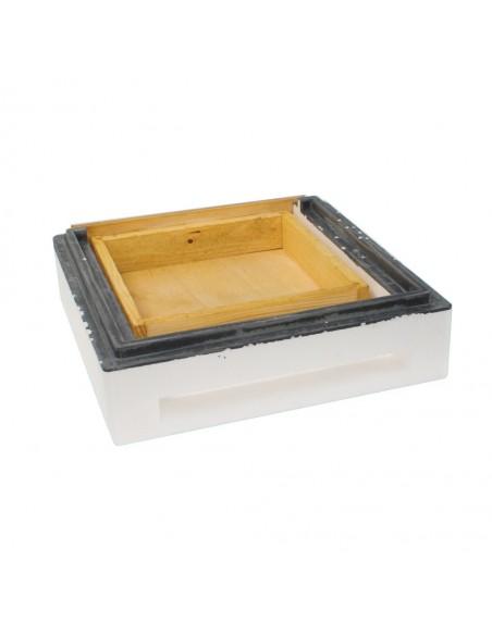 Mini dennica z szufladą, niemalowana