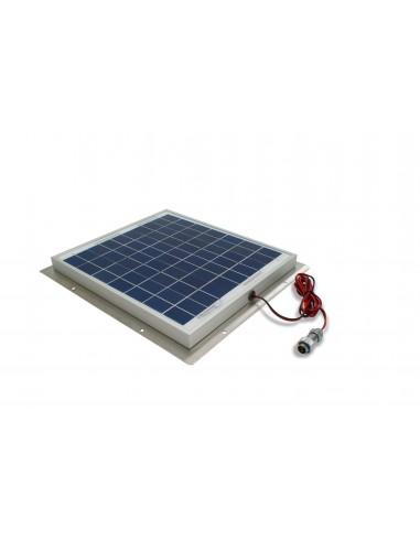 Zestaw solarny do ładowania akumulatora wagi