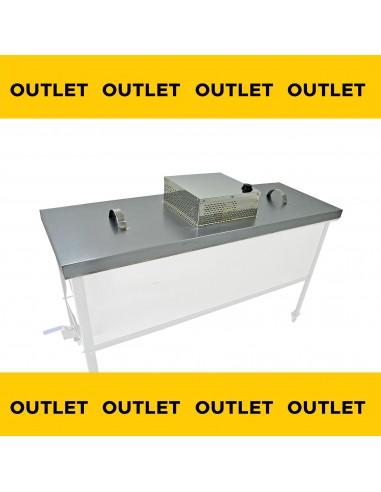 Topiarka górna elektryczna do stołu Dadant wzm, 1500 mm (Zagiety róg obudowy ,porysowana Pokrywa)