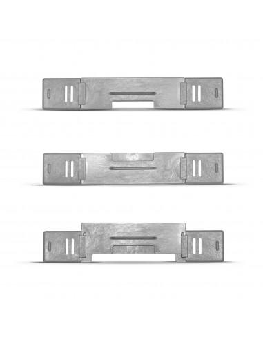 Zatyczka z zasuwką plastikową do dennicy plastikowej 6-ramkowej Wielkopolskiej lub Dadant