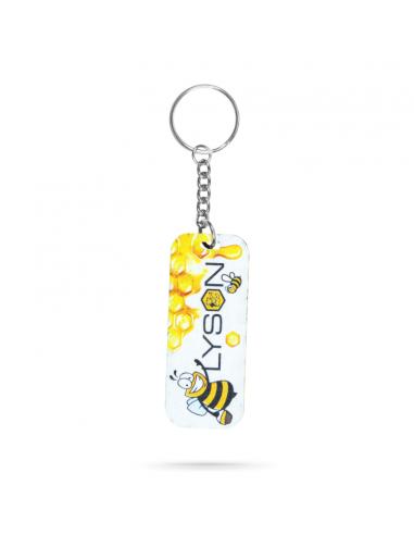 BRELOK drewno - Lysoń - Wesoła pszczoła