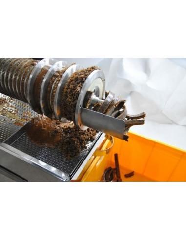 Wytłaczarka, wyciskarka - prasa ślimakowa wydajność do 200 kg/h - dedykowana do odsklepiarek