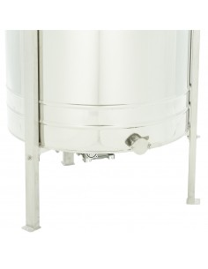 Urządzenie do wytopu wosku i dezynfekcji ramek duże (ocieplone)+ taboret gazowy