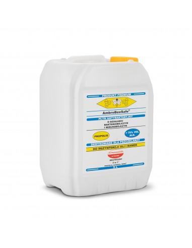 Ambro Bee Safe - płyn biobójczy i wirusobójczy do dezynfekcji uli z Propolisem (5l)