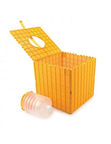 Multibox do transportu pszczół z poidełkiem, plastikowy