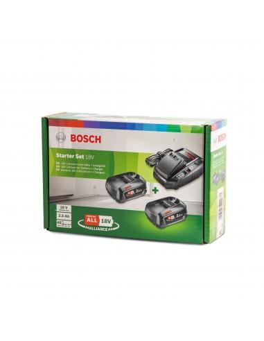 Zestaw ładowarka AL1830CV + 2 akumulatory PBA 2,5Ah BOSCH