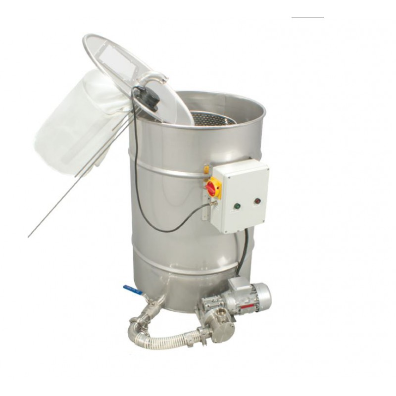 Odstojnik z pompą do filtrowania miodu