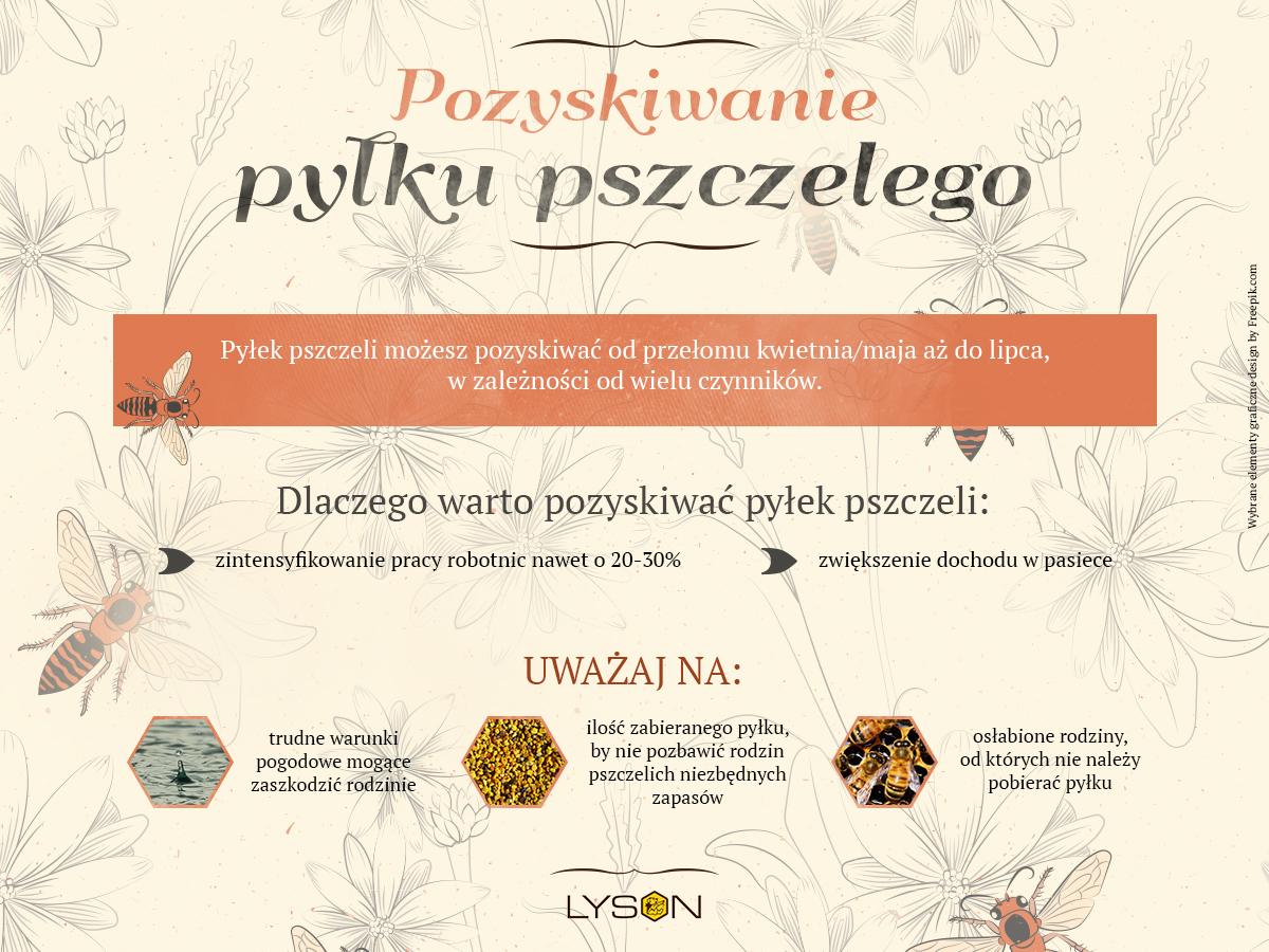 Pozyskiwanie pyłku pszczelego