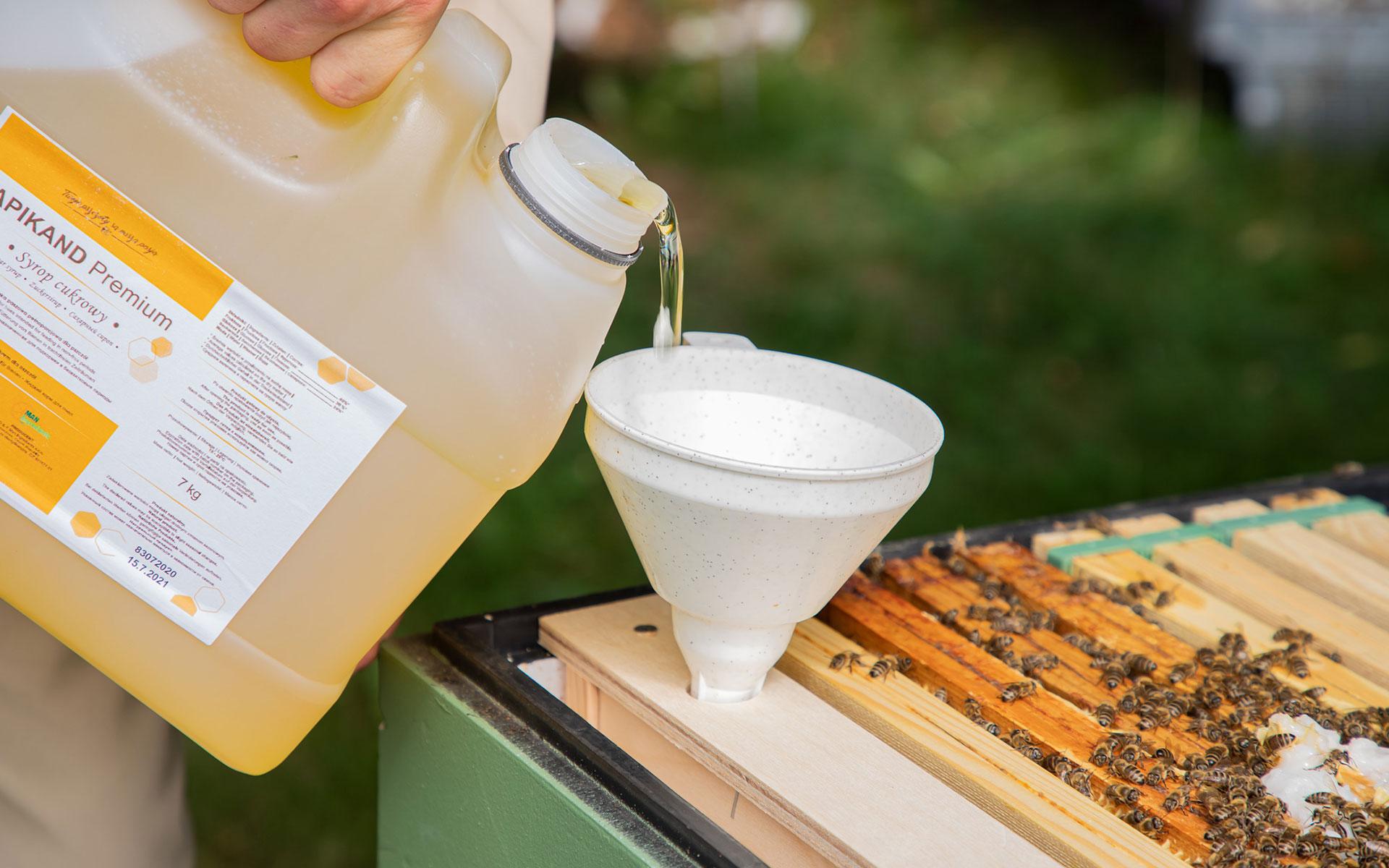 Syrop dla pszczół – gotowe i sprawdzone rozwiązanie