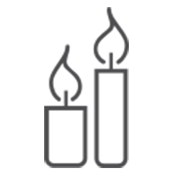 Ikona świec z wosku pszczelego